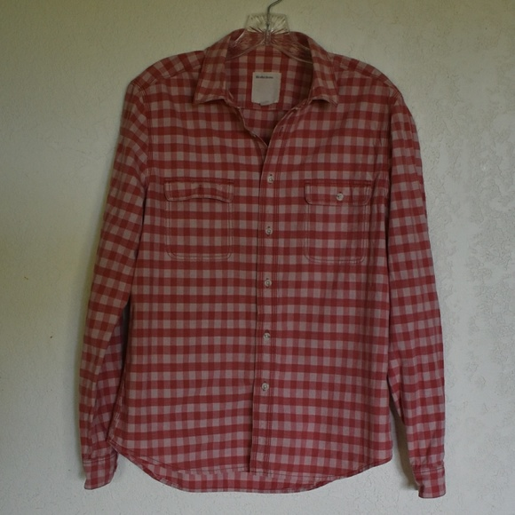 Life After Denim Other - Life After Denim red plaid long sleeve, size m.